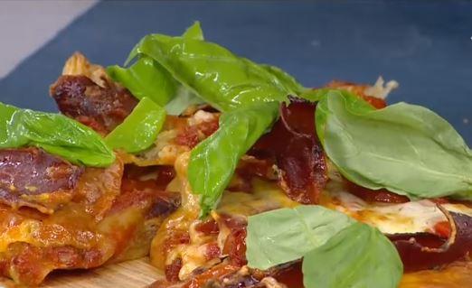 Milföylü Pizza Yapımı