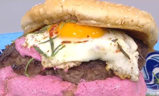 Pancarlı Burger Yapımı