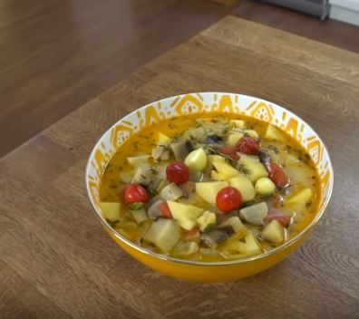 Sirkeli Patlıcan Çorbası Tarifi