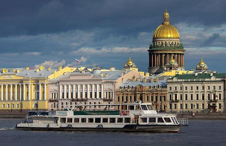 St. Petersburg Gezilecek Yerler-Rusya