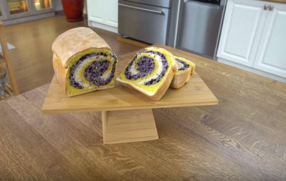 3 Renkli Ekmek Yapımı