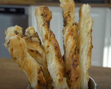Baharatlı Milföy Çubukları Tarifi