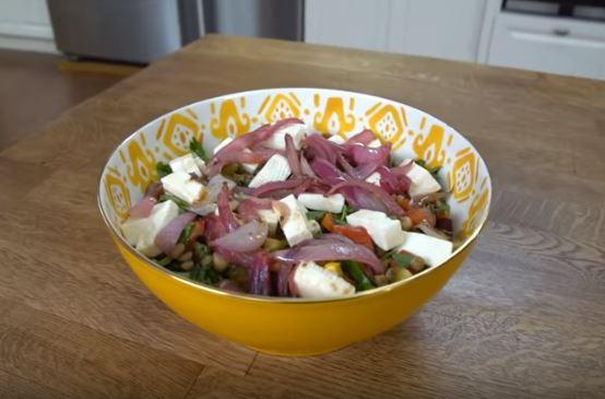 Baklagil Salatası Tarifi