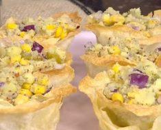 Çanakta Patates Salatası Yapımı