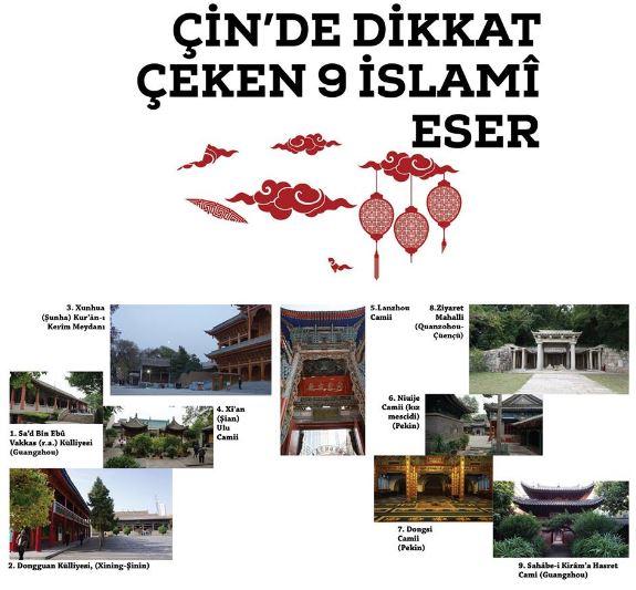 Çin'deki 9 İslami Eser