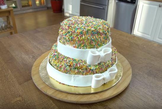 Kivili Muzlu Pasta Yapımı