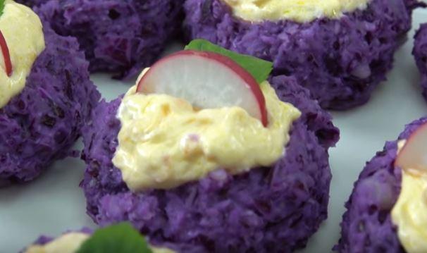 Lahana Pare Salatası Yapımı