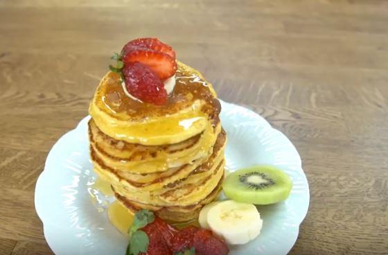 Limonlu Lorlu Pancake Yapımı