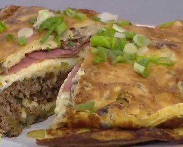 Omlet Arası Burger Tarifi