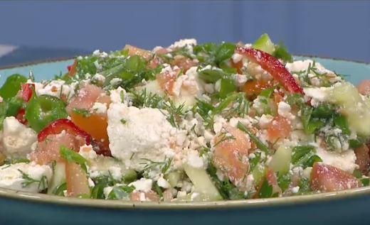 Sağlık Salatası Yapımı
