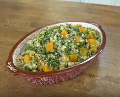 Balkabaklı Çekirdekli Bulgur Salatası Yapımı