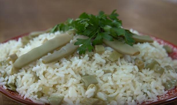 Fasulye Turşulu Pirinç Pilavı
