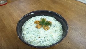Kabaklı Pirinçli Salata Yapımı