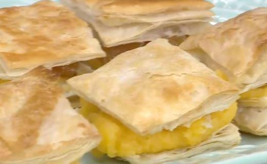 Kestaneli Minik Milföy Pasta Tarifi
