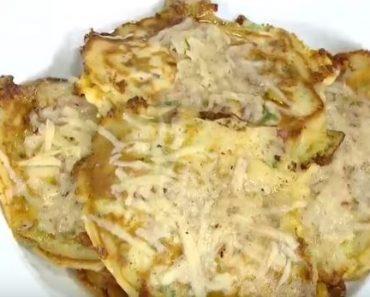 Pastırmalı Pancake Tarifi