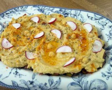 Pastırmalı Patlıcanlı Humus Tarifi