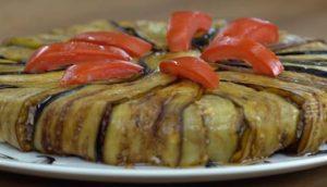 Patlıcanlı Kapamalı Etli Pilav Yapımı