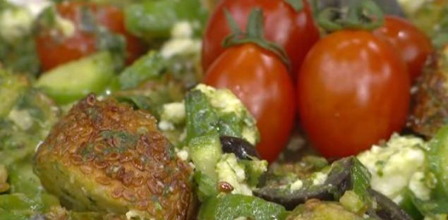 Simit Salatası Tarifi