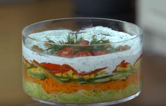 Sote Salata Yapımı