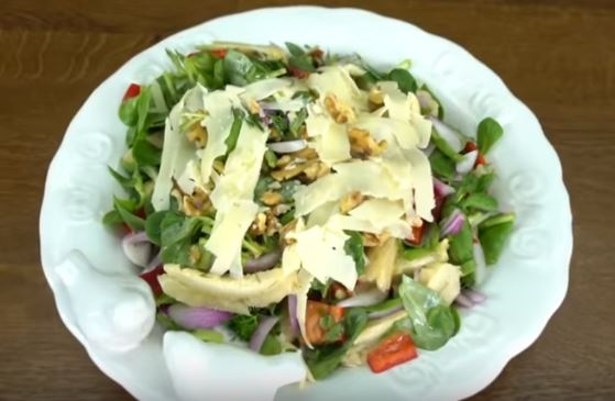 Enginarlı Bereket Salatası Yapımı