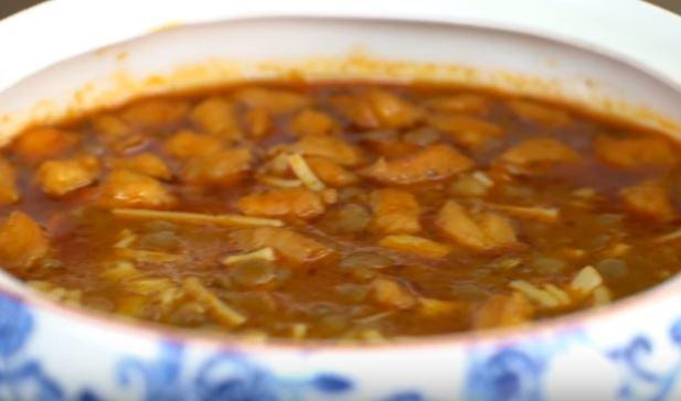 Gagalı Çorba Yapımı