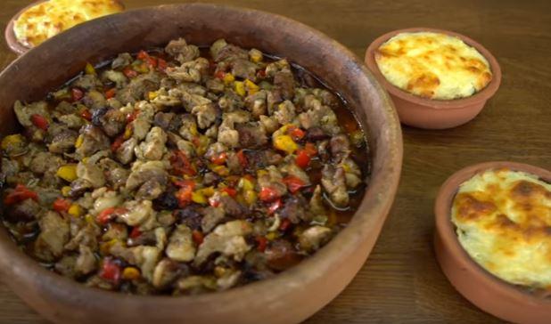 Güveç Pilavlı Sebzeli Kuzu Yemeği Yapımı