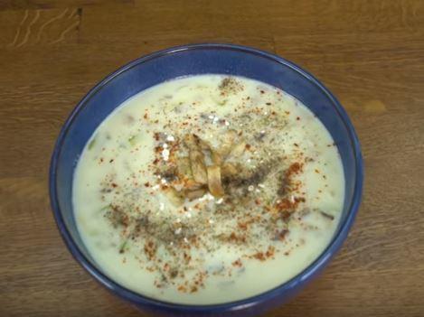 Kabaklı Mantar Çorbası Yapımı