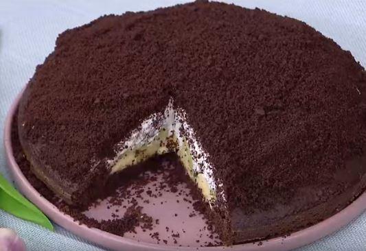 Muzlu Kivili Köstebek Pasta Yapımı