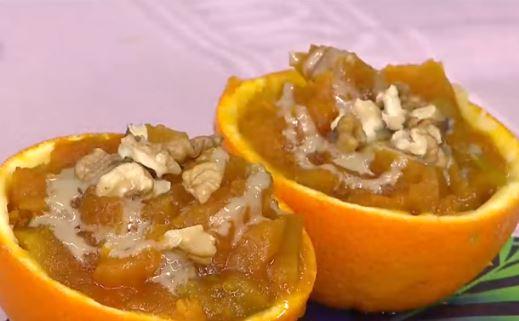 Portakallı Balkabağı Tatlısı Yapımı