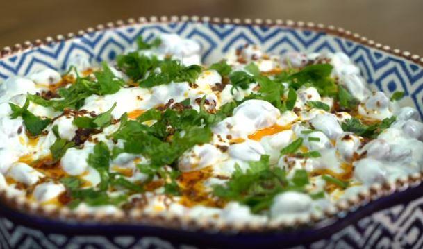 Barbunya Salatası Yapımı
