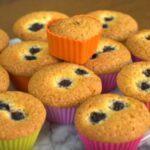 Böğürtlenli Muffin Yapılışı