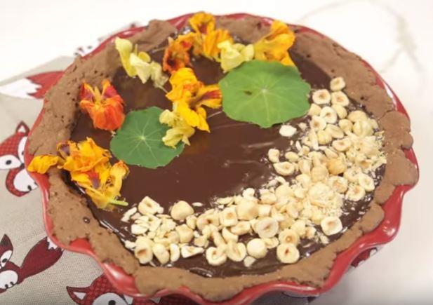 Çikolatalı Tart Yapımı