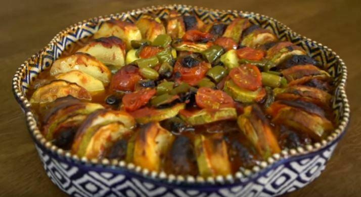 Köfteli Sebze Dizmesi Yapımı