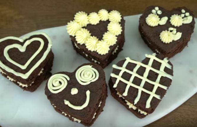 Kremalı Kalp Pasta Yapılışı