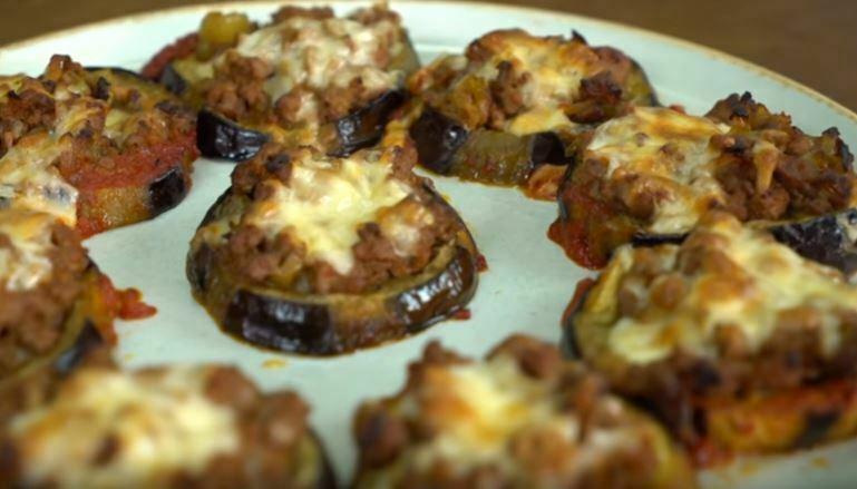 Patlıcanlı Lezzet Dilimleri Yapımı
