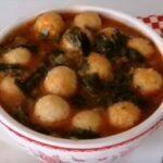 Bulgur Köfteli Ispanak Çorbası