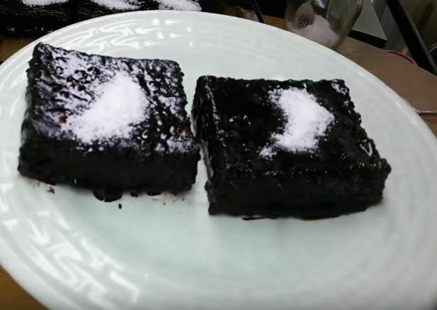Kare Borcam Kek Yapımı