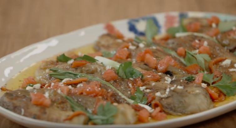 Köz Patlıcan Salatası Yapılışı