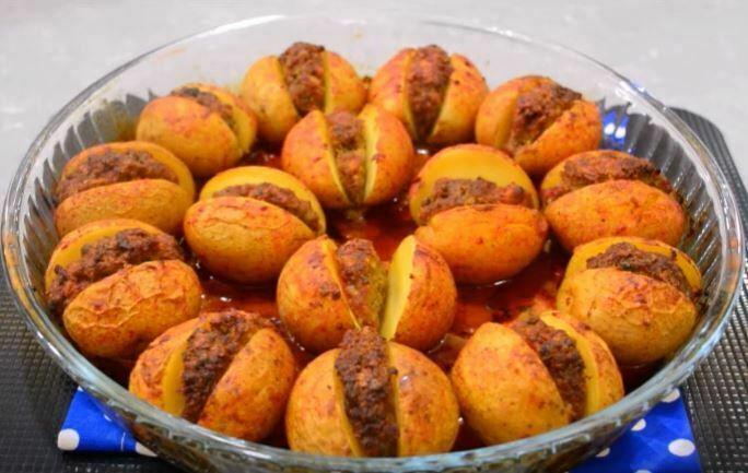 Patates Arası Köfte Yemeği Yapılışı