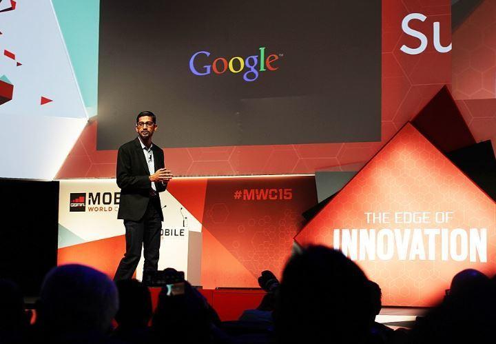 Google Ceo'su Sundar Pichai-2015
