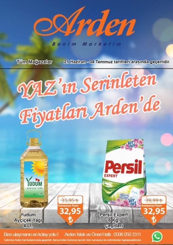 Arden 21 Haziran-4 Temmuz