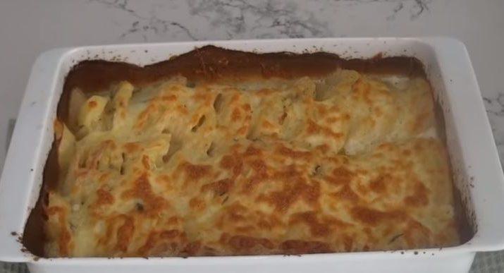 Kremalı Patates Tarifi Fırında