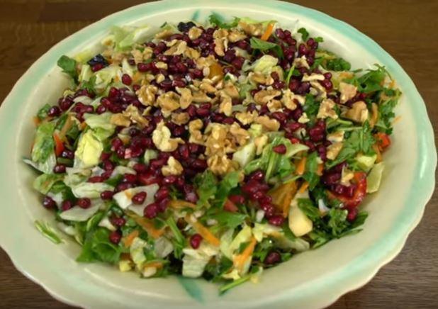 Metabolizma Hızlandıran Salata Tarifi