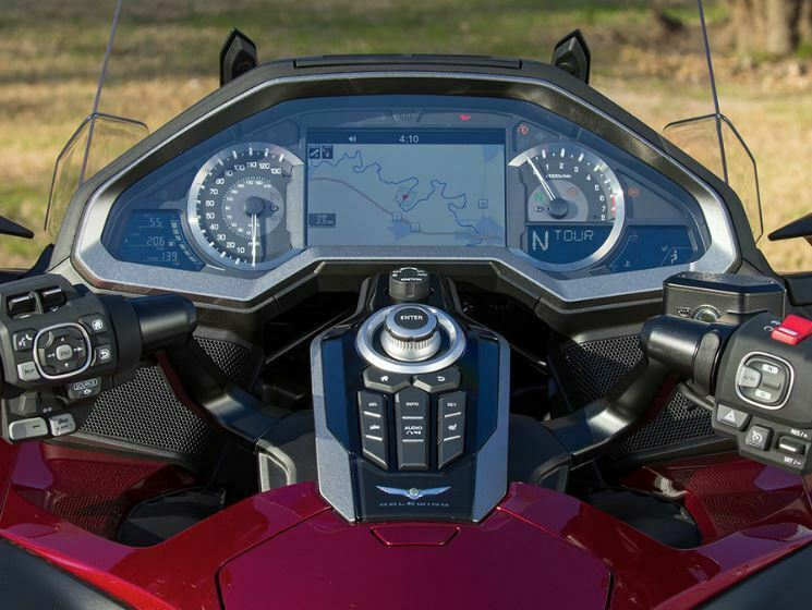 Honda Gold Wing GL1800 Motosiklet