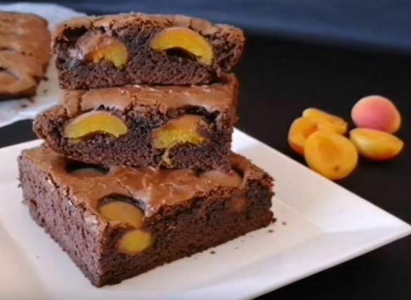 Kayısılı Brownie Tarifi