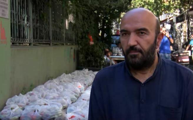Beyoğlu'ndaki Hayır Pazarında, İhtiyaç Sahipleri İhtiyaçlarını Parasız Alıyor
