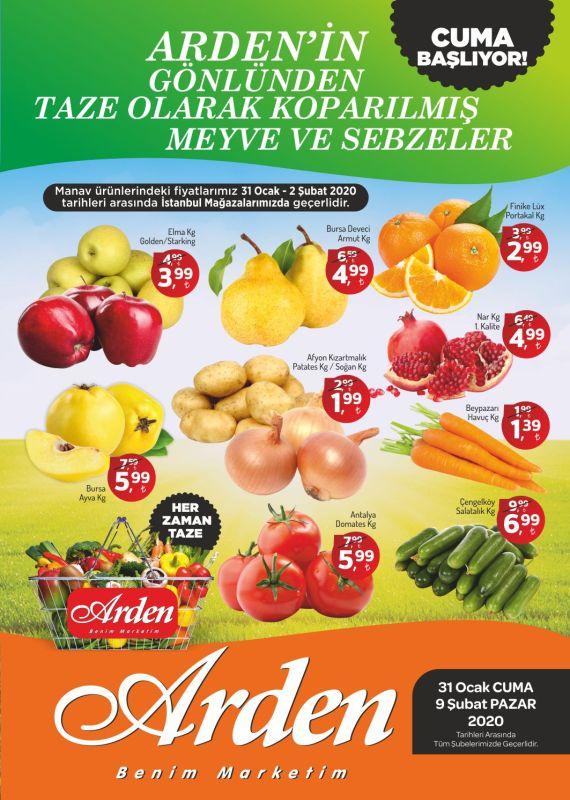 Arden Market 31 Ocak-9 Şubat 2020