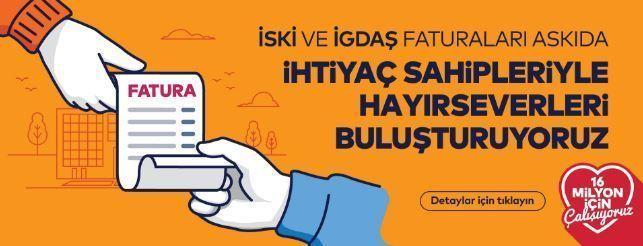 İstanbul Büyükşehir Belediyesi Askıda Fatura Uygulaması