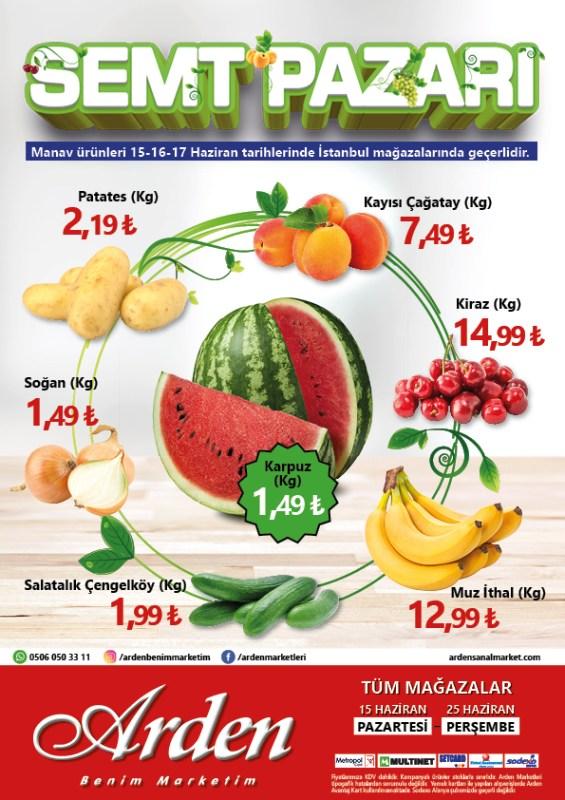 Arden Market 15-25 Haziran 2020