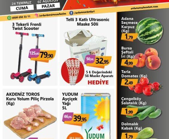 Arden Market 24 Temmuz-2 Ağustos 2020 Insert
